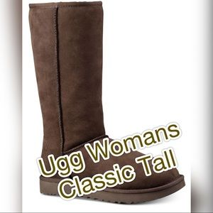 UGG Classic Woman's Tall Boots Chocolate Size 10